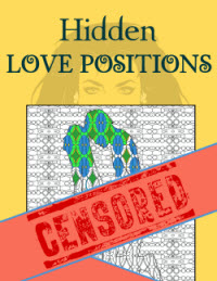 Hidden Love Positions - Sex Position Coloring Book